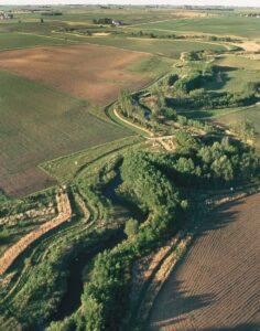 riparian buffer in North Dakota